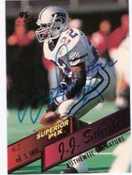 1995 Superior Pix Autographs #108 J.J. Smith/5000