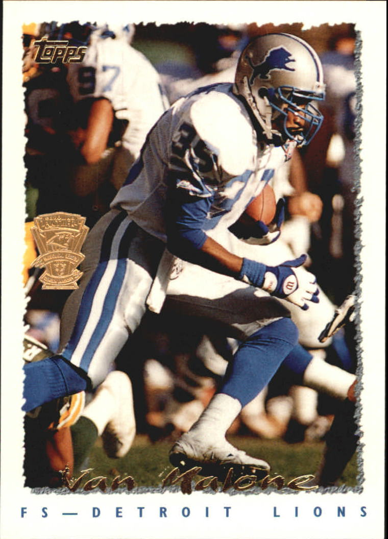 1995 Topps Factory Panthers #418 Van Malone