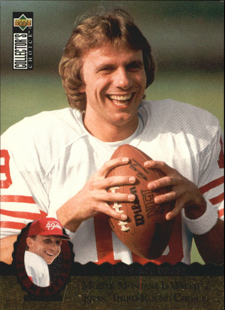 1995 Upper Deck Joe Montana Trilogy #MT3 Joe Montana