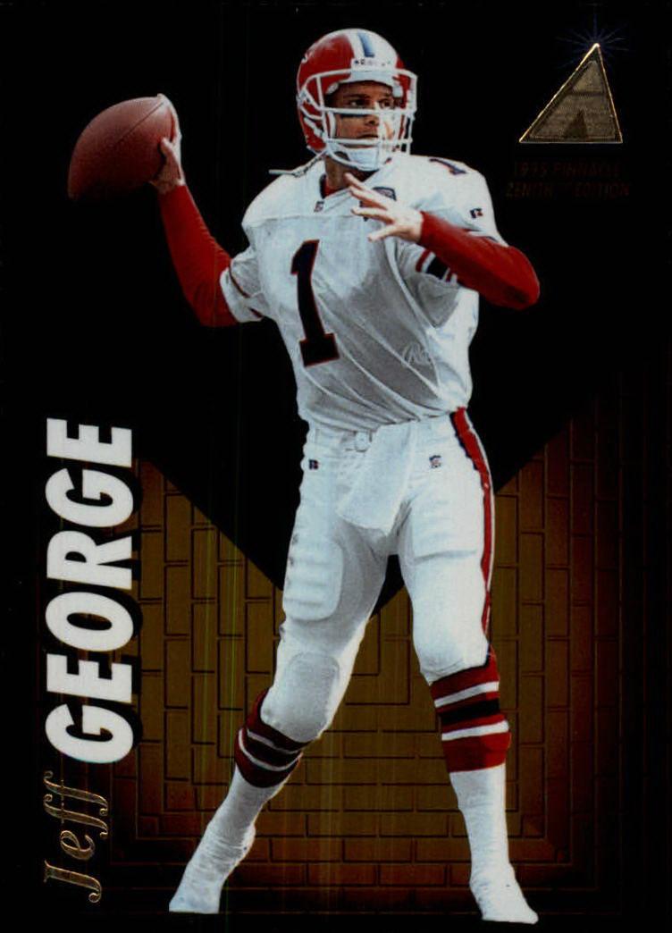 1995 Zenith #Z74 Jeff George