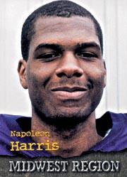 1996 Roox Prep Stars MW/SW #MW50 Napoleon Harris