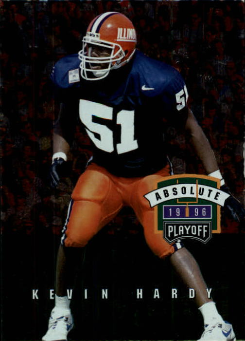 1996 Absolute #148 Kevin Hardy RC