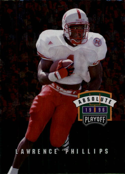 1996 Absolute #150 Lawrence Phillips RC