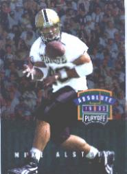 1996 Absolute #196 Mike Alstott RC