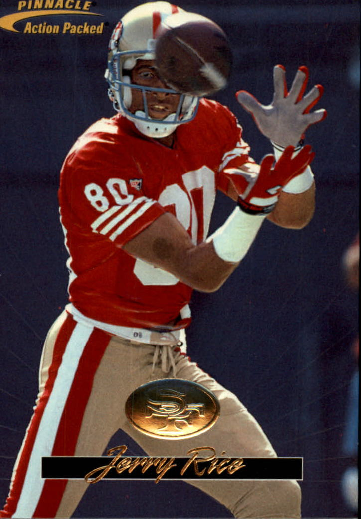 1996 Action Packed #11 Jerry Rice