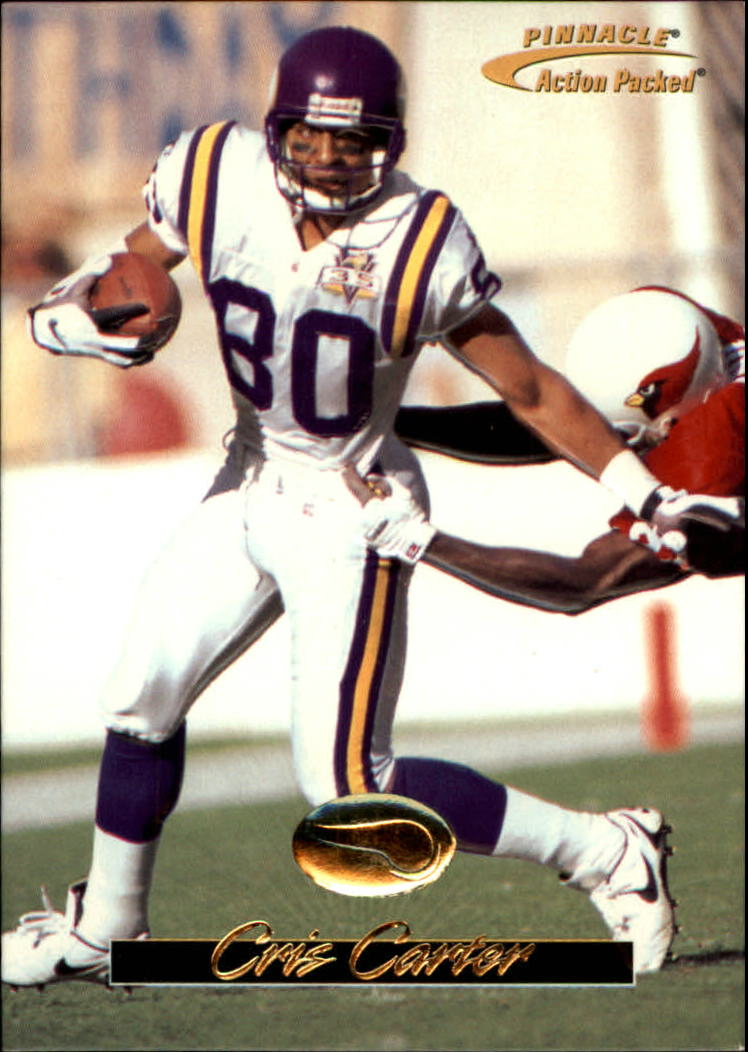 1996 Action Packed #13 Cris Carter