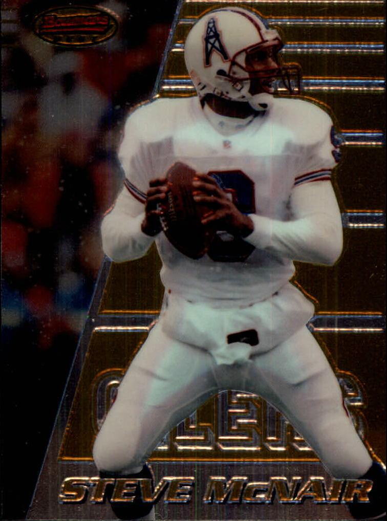 1996 Bowman's Best #20 Steve McNair