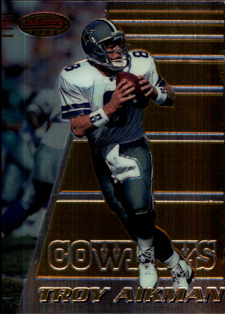 1996 Bowman's Best #60 Troy Aikman
