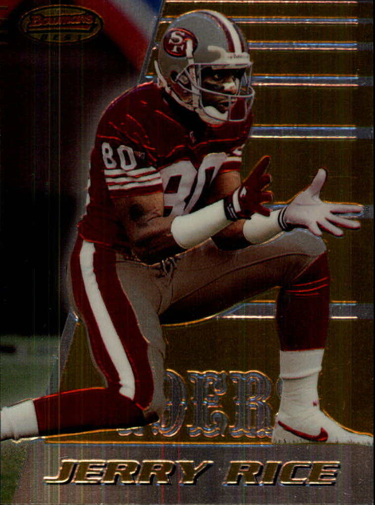 1996 Bowman's Best #135 Jerry Rice
