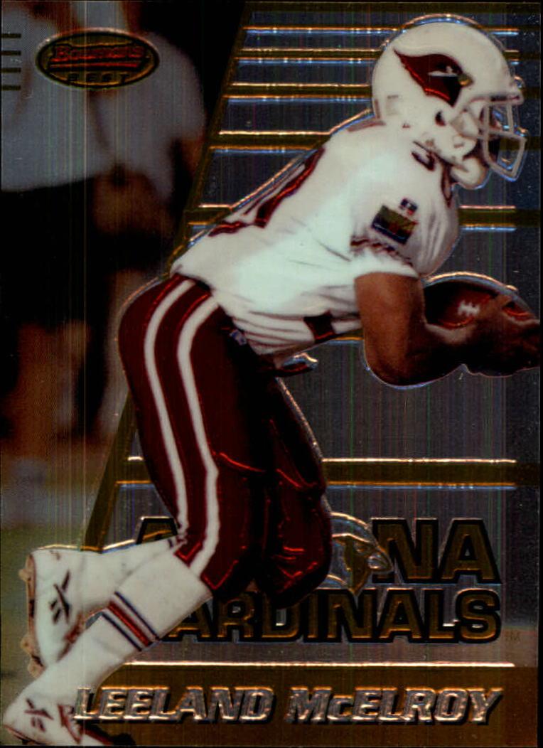1996 Bowman's Best #138 Leeland McElroy RC