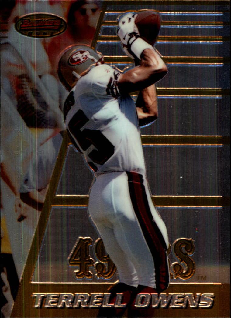 903bc1b7dae 1996 Bowman s Best  147 Terrell Owens RC