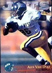 1996 Classic NFL Rookies #60 Alex Van Dyke