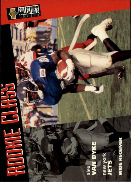 1996 Collector's Choice #21 Alex Van Dyke RC