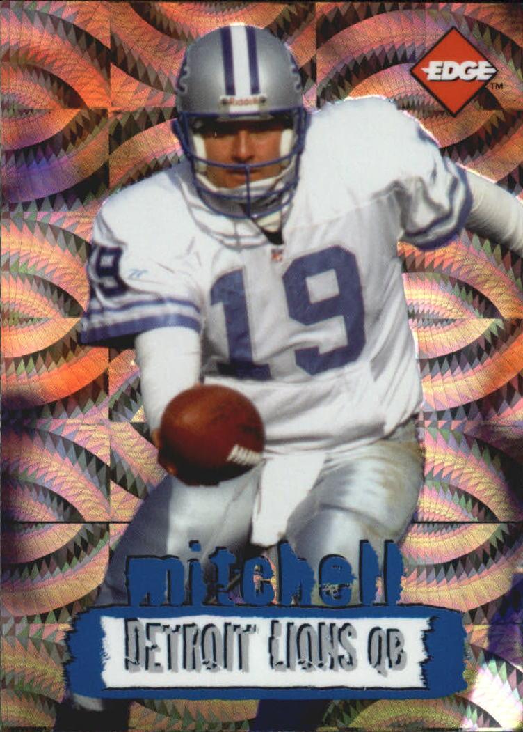 1996 Collector's Edge Holofoil #74 Scott Mitchell