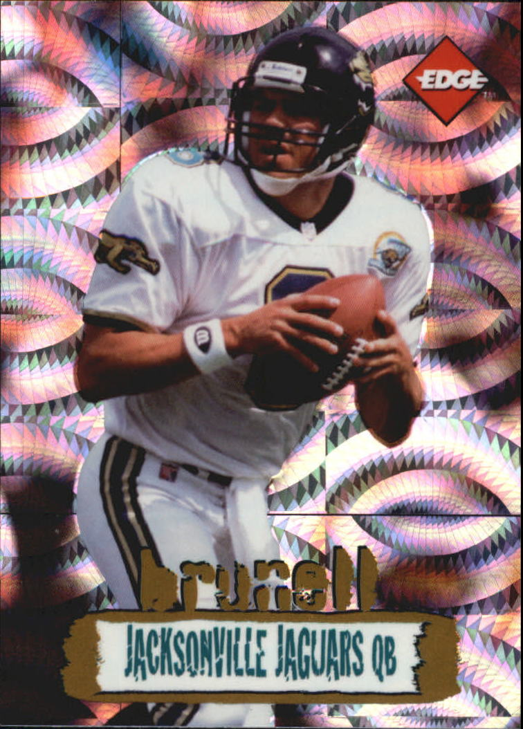 1996 Collector's Edge Holofoil #106 Mark Brunell