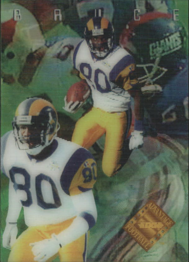 1996 Collector's Edge Advantage Video #V8 Isaac Bruce