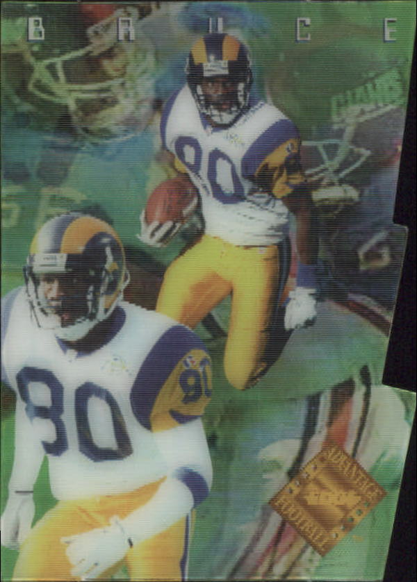 1996 Collector's Edge Advantage Video Die Cuts #V8 Isaac Bruce