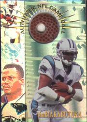 1996 Collector's Edge Advantage Game Ball #G25 Tim Biakabutuka