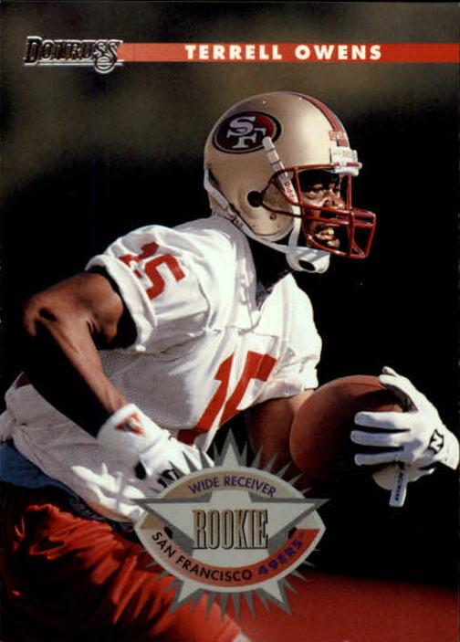 1996 Donruss #237 Terrell Owens RC