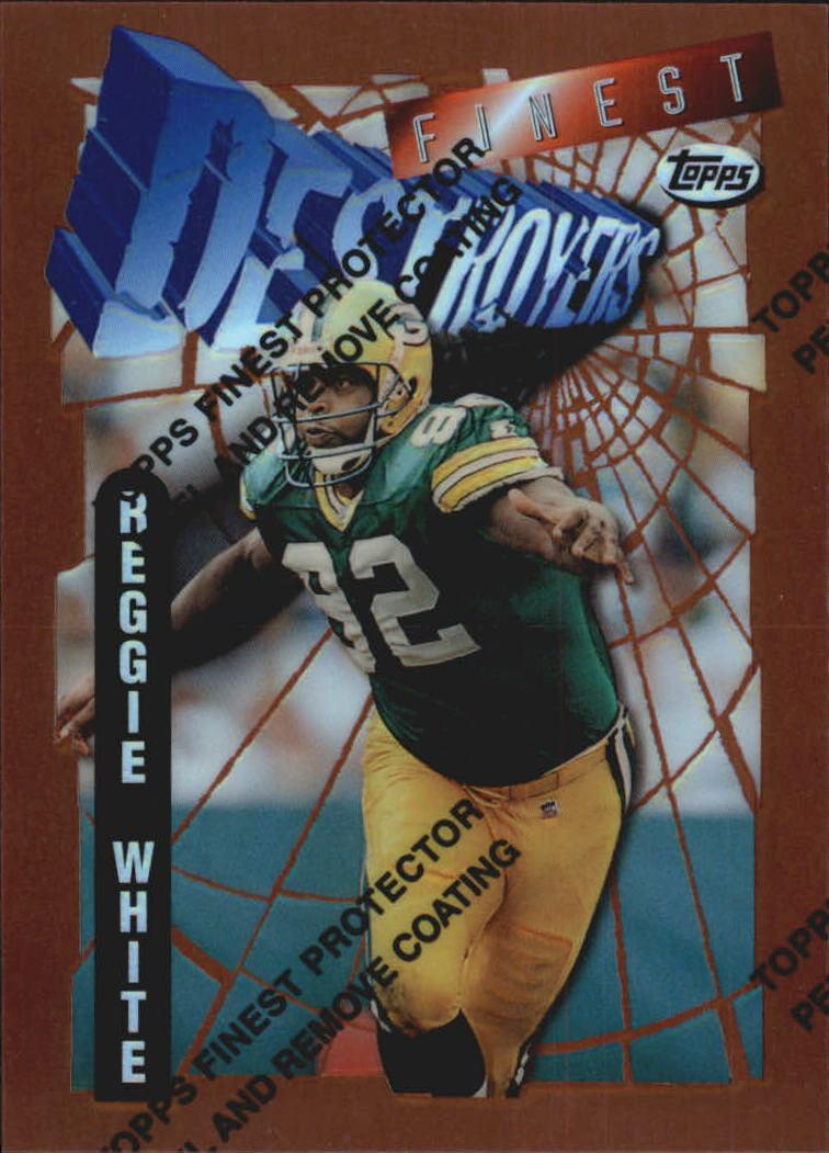 1996 Finest Refractors #205 Reggie White B