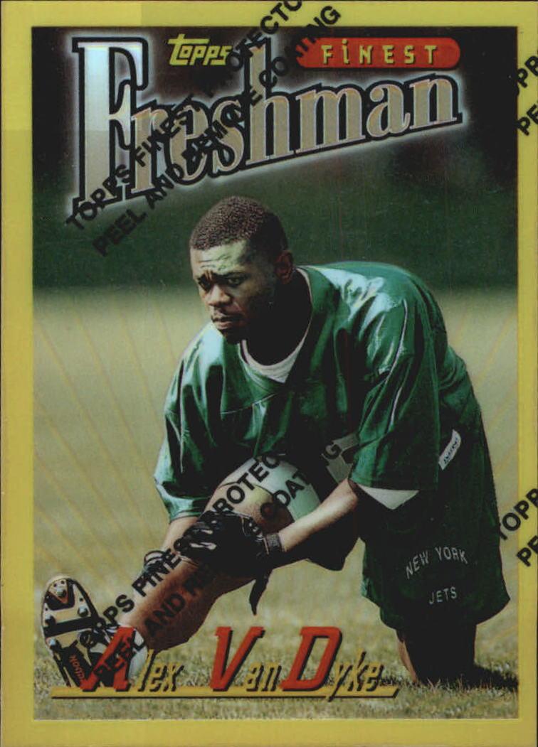 1996 Finest Refractors #207 Alex Van Dyke G