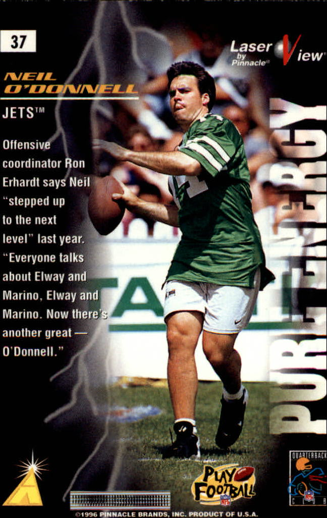 1996-Laser-View-Football-1-40-Your-Choice-GOTBASEBALLCARDS thumbnail 61