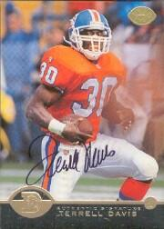 1996 Leaf Collector's Edition Autographs #3 Terrell Davis