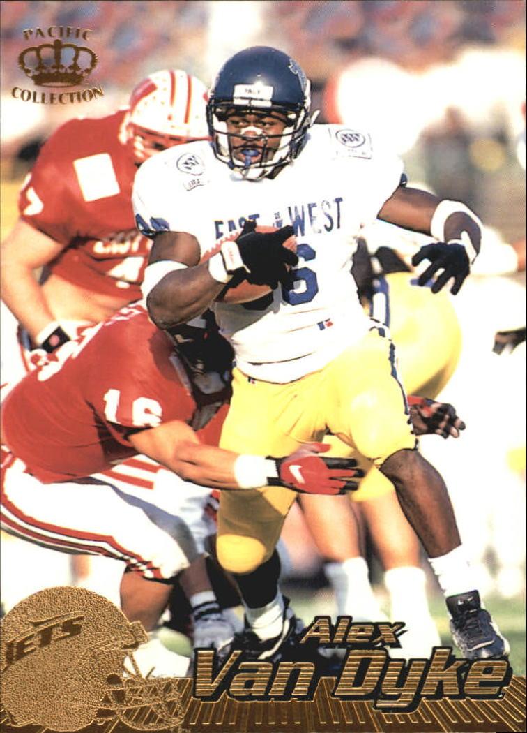1996 Pacific #317 Alex Van Dyke RC