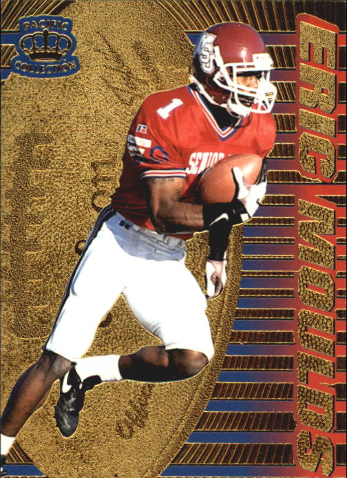1996 Pacific Dynagon #12 Eric Moulds RC