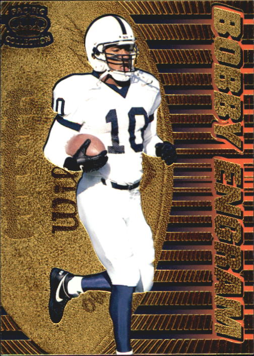 1996 Pacific Dynagon #20 Bobby Engram RC
