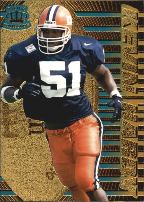 1996 Pacific Dynagon #64 Kevin Hardy RC