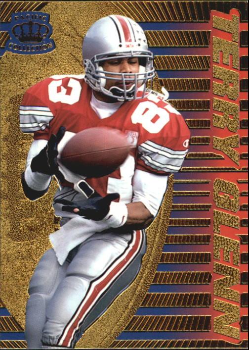 1996 Pacific Dynagon #86 Terry Glenn RC