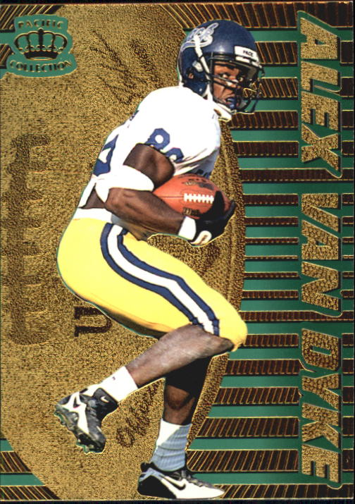 1996 Pacific Dynagon #102 Alex Van Dyke RC