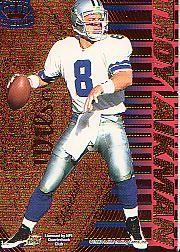 1996 Pacific Dynagon Tandems #1 D.Marino/T.Aikman back image
