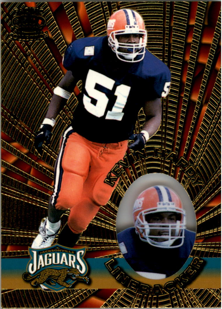 1996 Pacific Invincible #68 Kevin Hardy RC