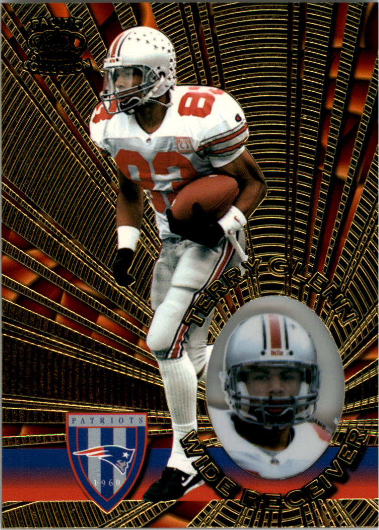 1996 Pacific Invincible #88 Terry Glenn RC