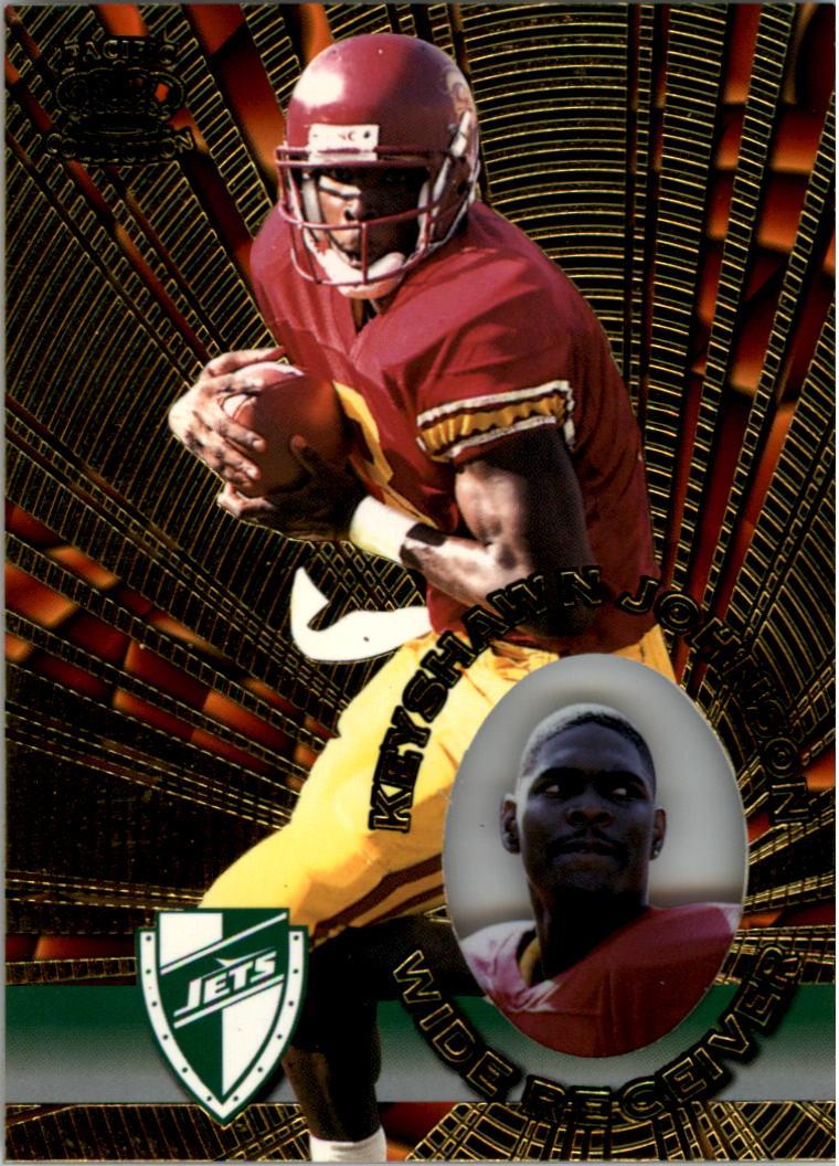 1996 Pacific Invincible #98 Keyshawn Johnson RC
