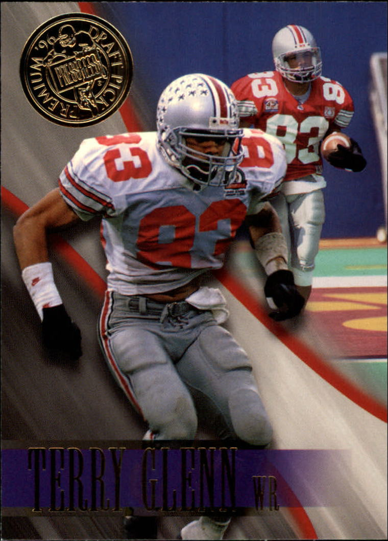 1996 Press Pass #7 Terry Glenn