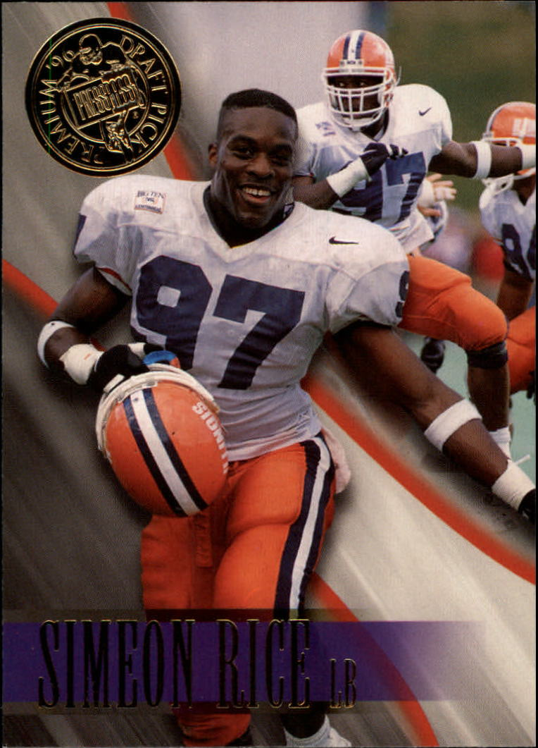1996 Press Pass #9 Simeon Rice