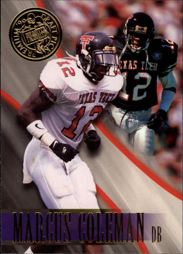 1996 Press Pass #12 Marcus Coleman