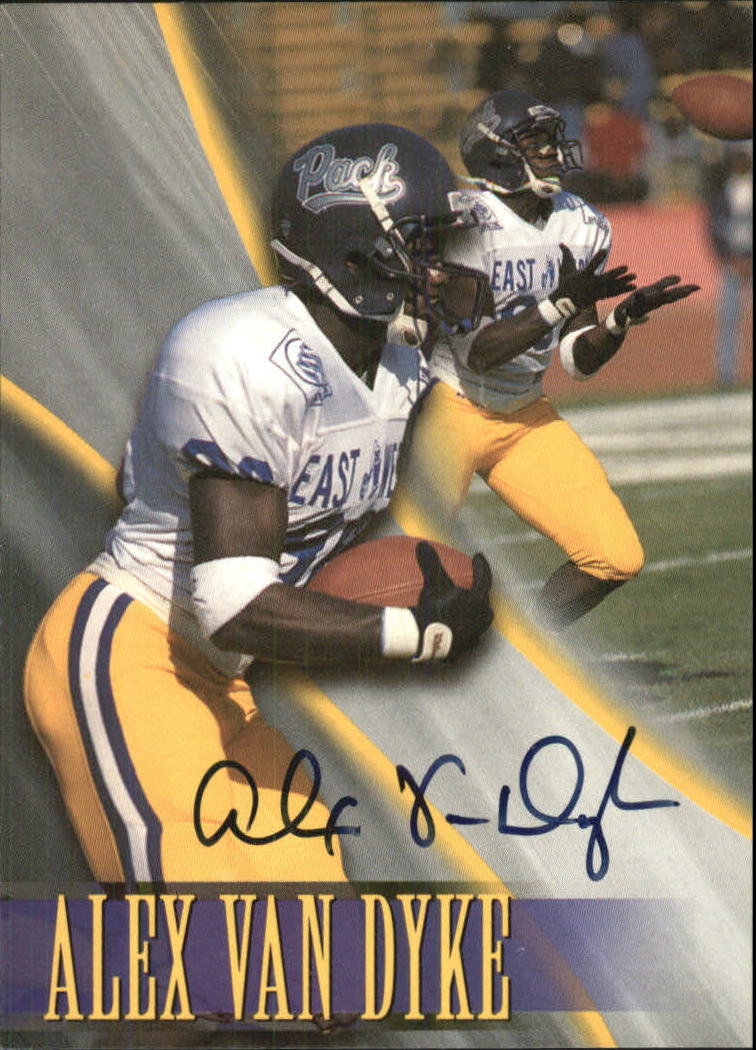 1996 Press Pass Paydirt Autographs #16 Alex Van Dyke