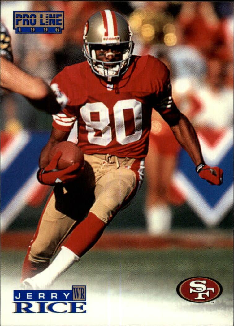 1996 Pro Line #140 Jerry Rice