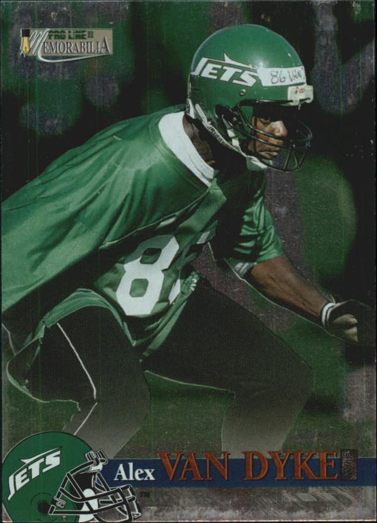 1996 Pro Line Memorabilia #54 Alex Van Dyke RC
