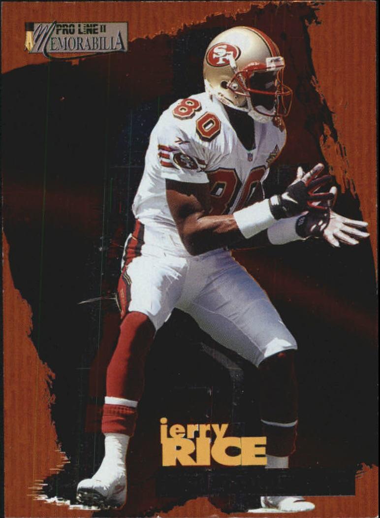 1996 Pro Line Memorabilia Producers #P5 Jerry Rice