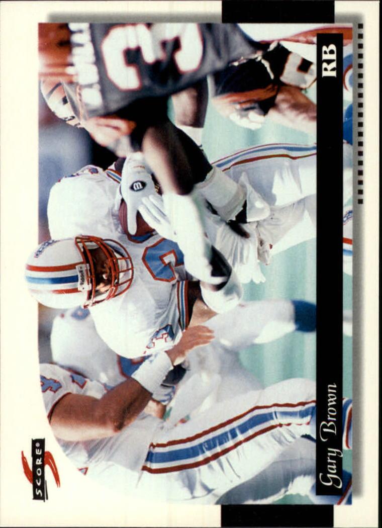 1996 Score #125 Gary Brown