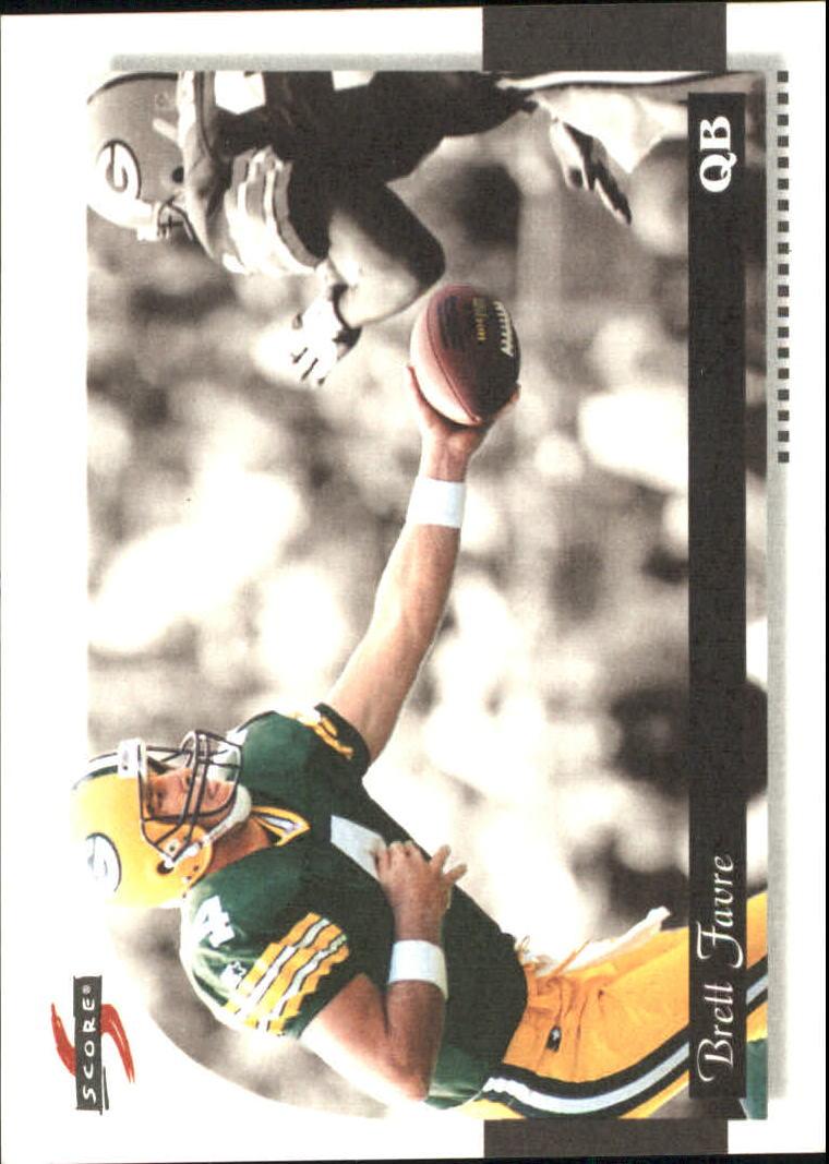 1996 Score Field Force #119 Brett Favre