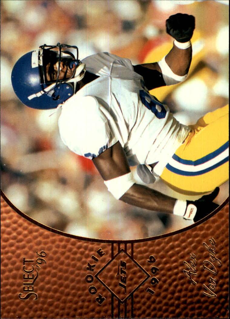 1996 Select #164 Alex Van Dyke RC