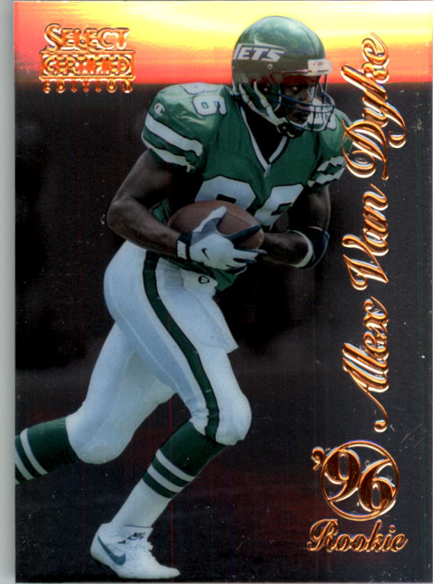 1996 Select Certified #88 Alex Van Dyke RC