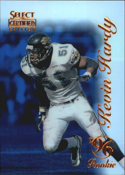 1996 Select Certified Mirror Blue #94 Kevin Hardy