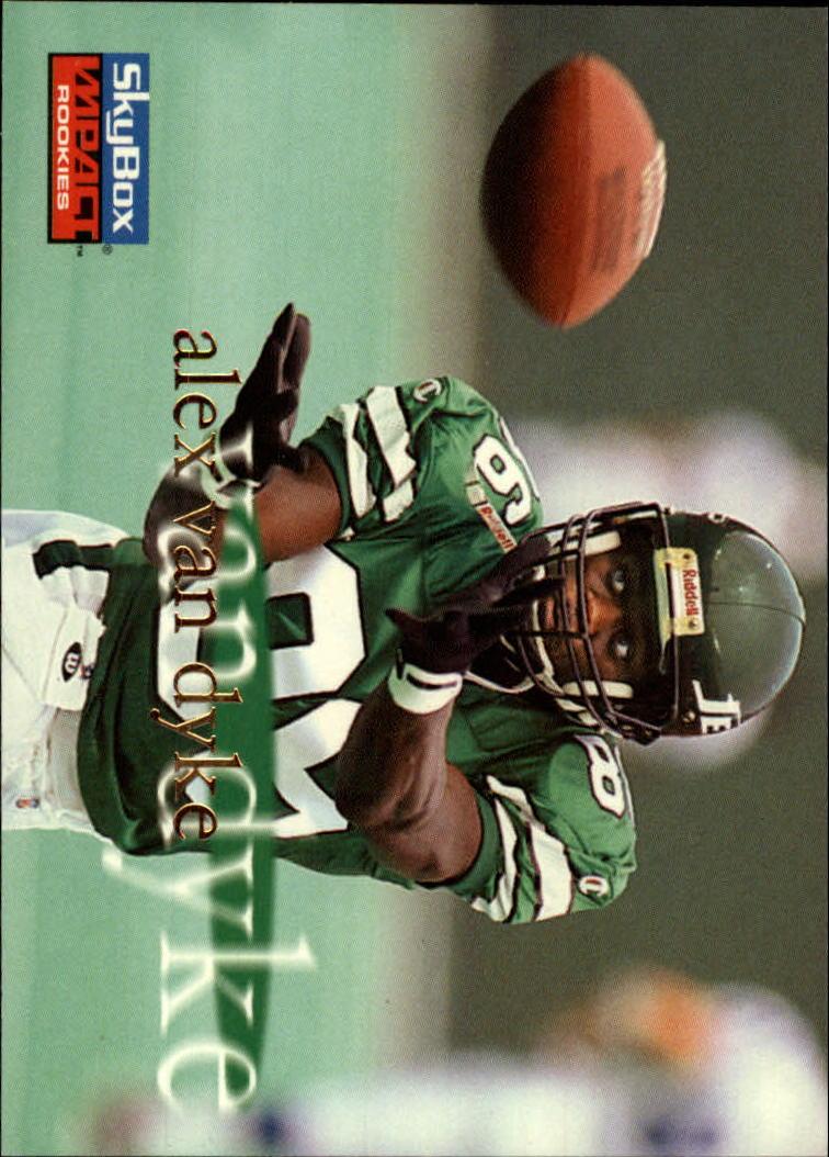 1996 SkyBox Impact Rookies #47 Alex Van Dyke RC